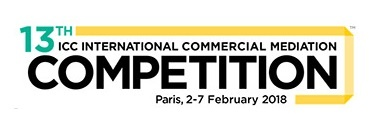 ICC Mediation Competition Event – Paris 2-7 Feb 2018