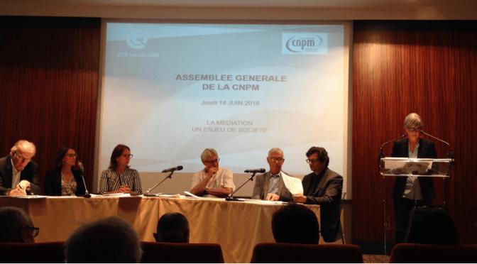 INTER-médiés présent à l'AG de la CNPM