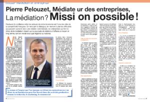 Interview de Pierre Pelouzet médiateur des entreprises