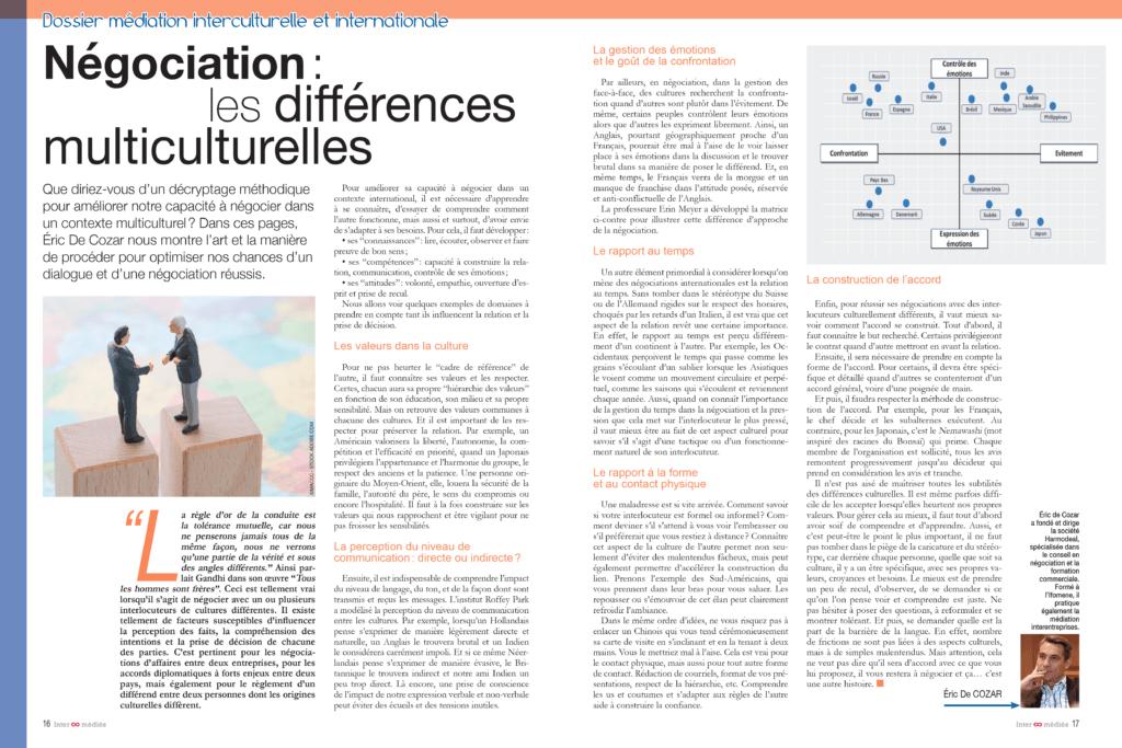 Inter-médiés N°5 - Negociation - mediation interculturelle