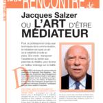 Jacques Salzer ou l'art d'être médiateur.
