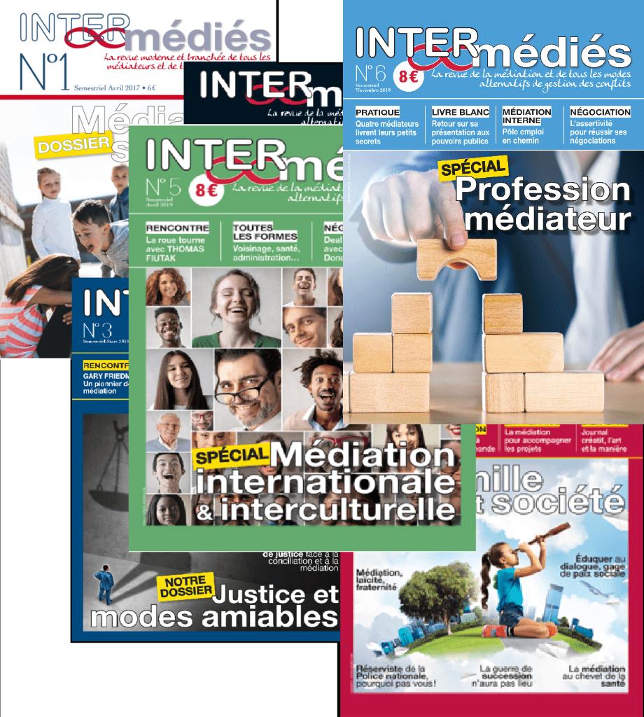 INTER-médiés La revue de la Médiation N°1 à 6