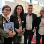 Inter-Médiés au Congrès de la Médiation à Angers du 05 au 07 février 2020. Christel Schirmer, Joëlle Dunoyer, Hervé Carré, Marion Delisse.