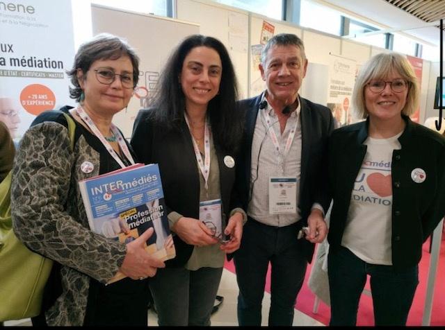 Inter-Médiés au Congrès de la Médiation à Angers du 05 au 07 février 2020
