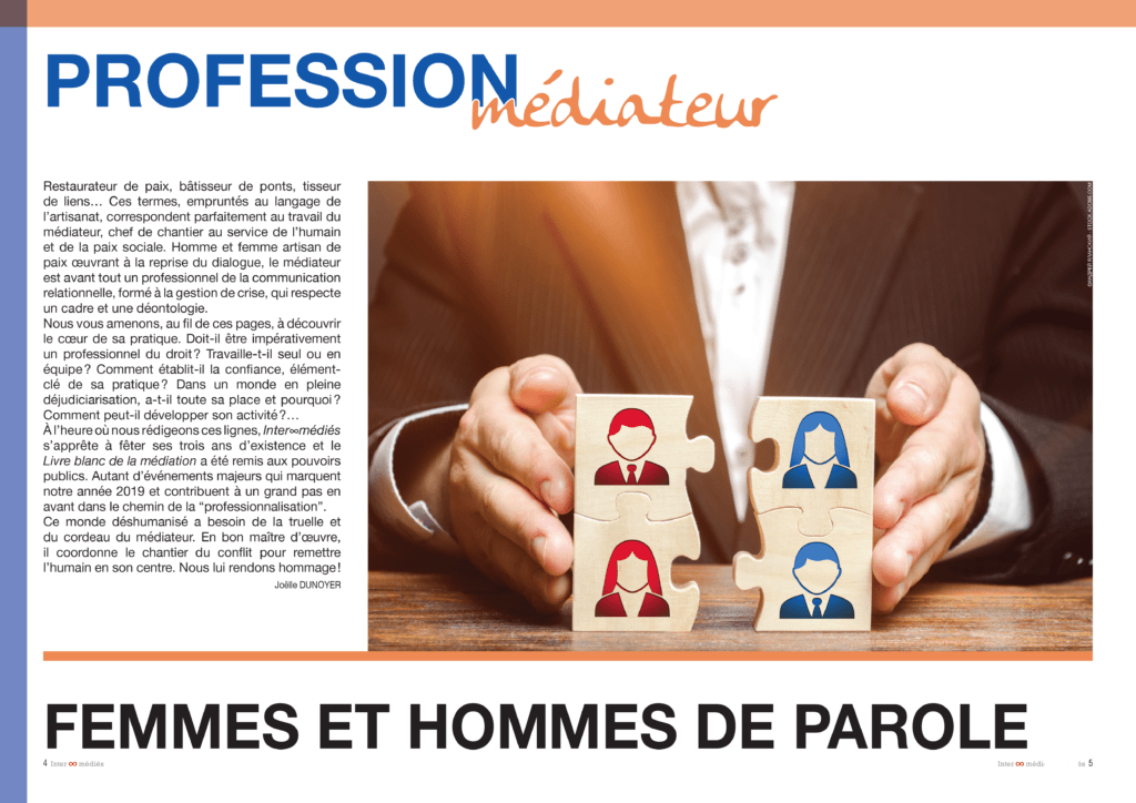 Intermedies N°6 - Dossier profession médiateur